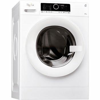 Whirlpool FSCR 80418 Vrijstaand Voorbelading 8kg 1400RPM A+++-30% Wit wasmachine