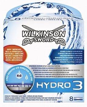 Wilkinson Sword Hydro 3 Scheermesjes 8stuks