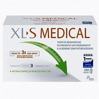 XLS Medical Vetbinder 1 Maand kuur Afslankpillen 180tabl