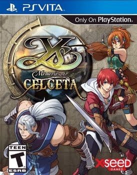 Ys Memories of Celceta (PS Vita)