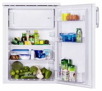 Zanussi ZRG14800WA Vrijstaand 137l A+ Wit combi-koelkast