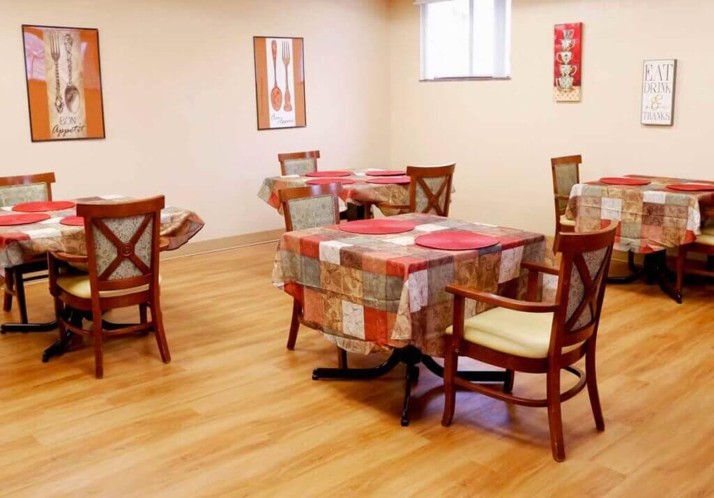 vernon dining room