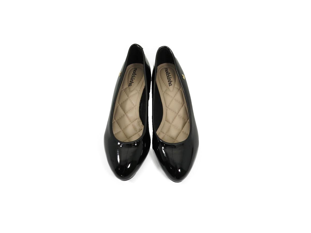 Sapato Infantil Menina Molekinha Ref:2166.416