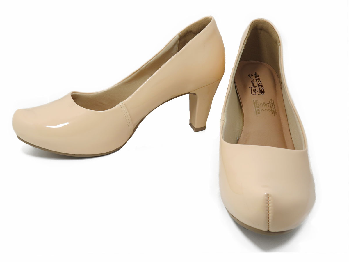 Sapato Feminino Mississipi Verniz Ref:X9092