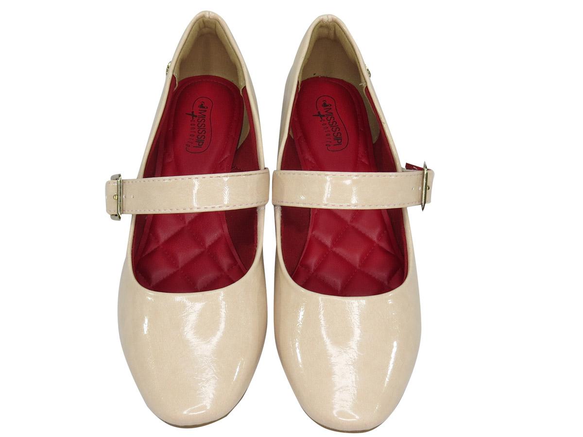 Sapato Feminino Mississipi Ref:Q0082