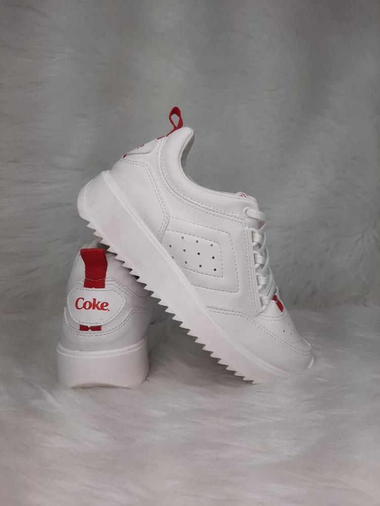 Tenis Feminino Coca Cola X58 Ref:CC1677