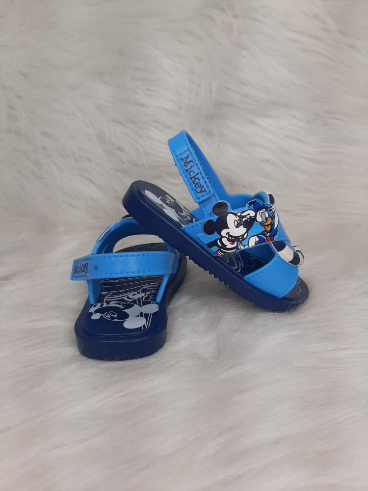 Sandalia Infantil Menino Grendene Kids Disney Shower Ref:22171