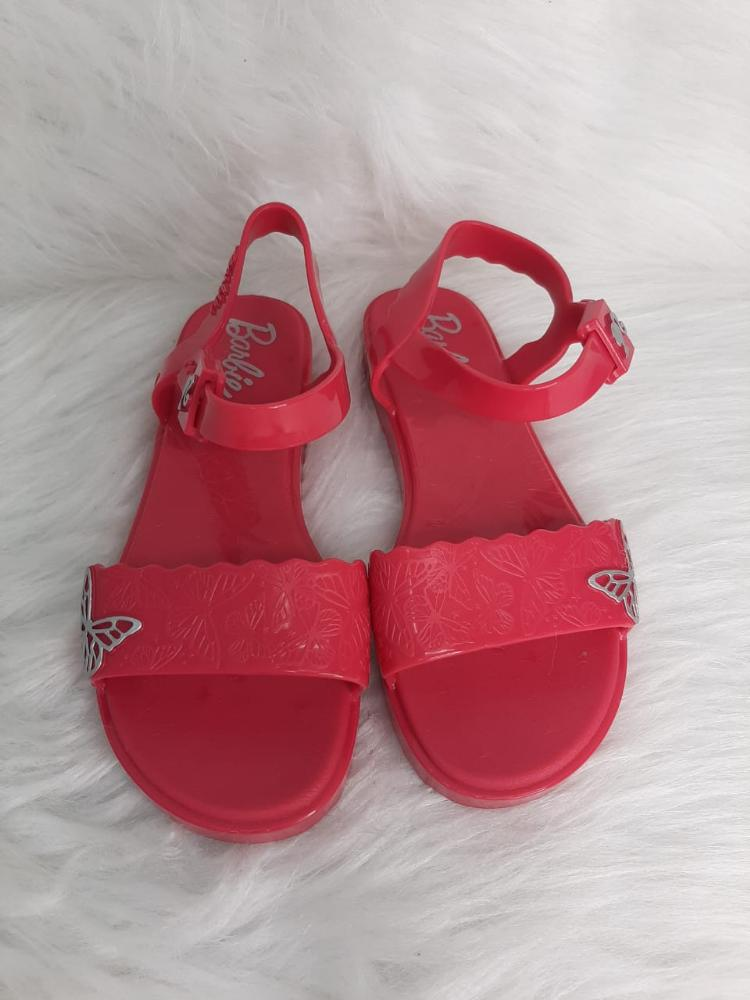 Sandalia Infantil Menina Grendene Kids Barbie Ref:22370