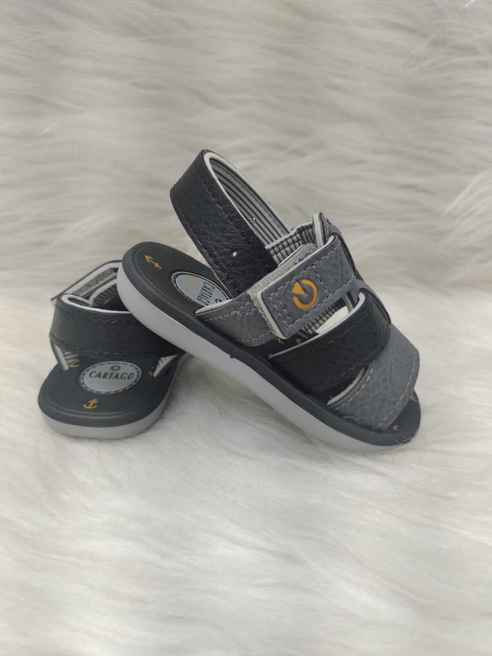 Sandalia Infantil Menino Cartago Linz Ref:11630