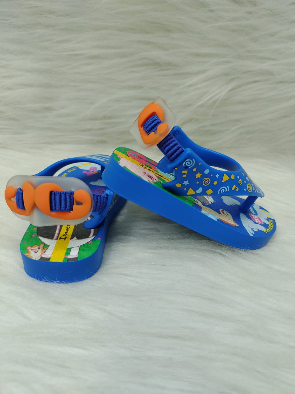 Chinelo Infantil Menino Ipanema Mundo Bita Ref:26498