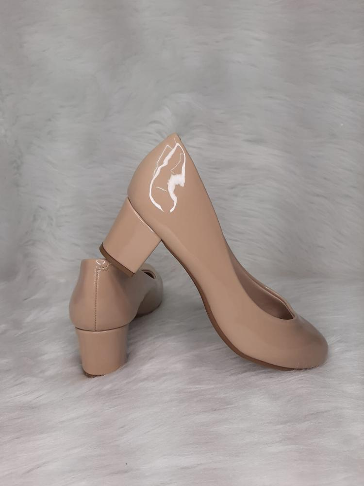 Sapato Feminino Beira Rio Verniz Ref:4777.309