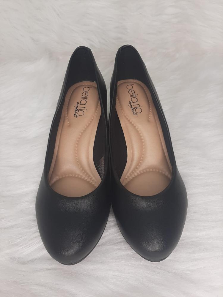 Sapato Feminino Beira Rio Napa Ref:4777.309