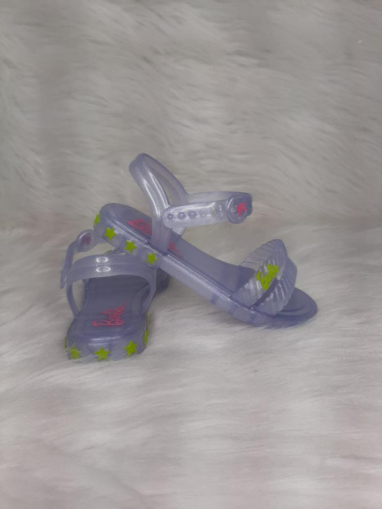 Sandalia Infantil Menina Grendene Barbie Ref:22492