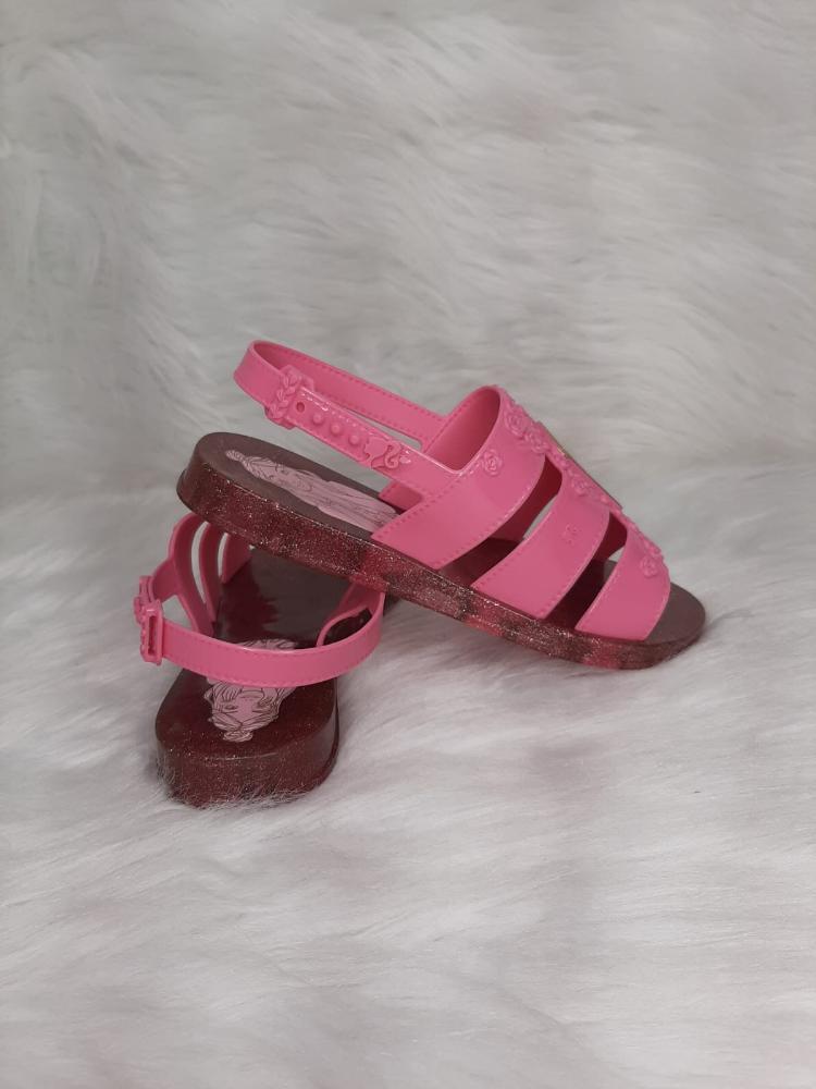 Sandalia Infantil Menina Grendene Barbie Spa Ref:22485