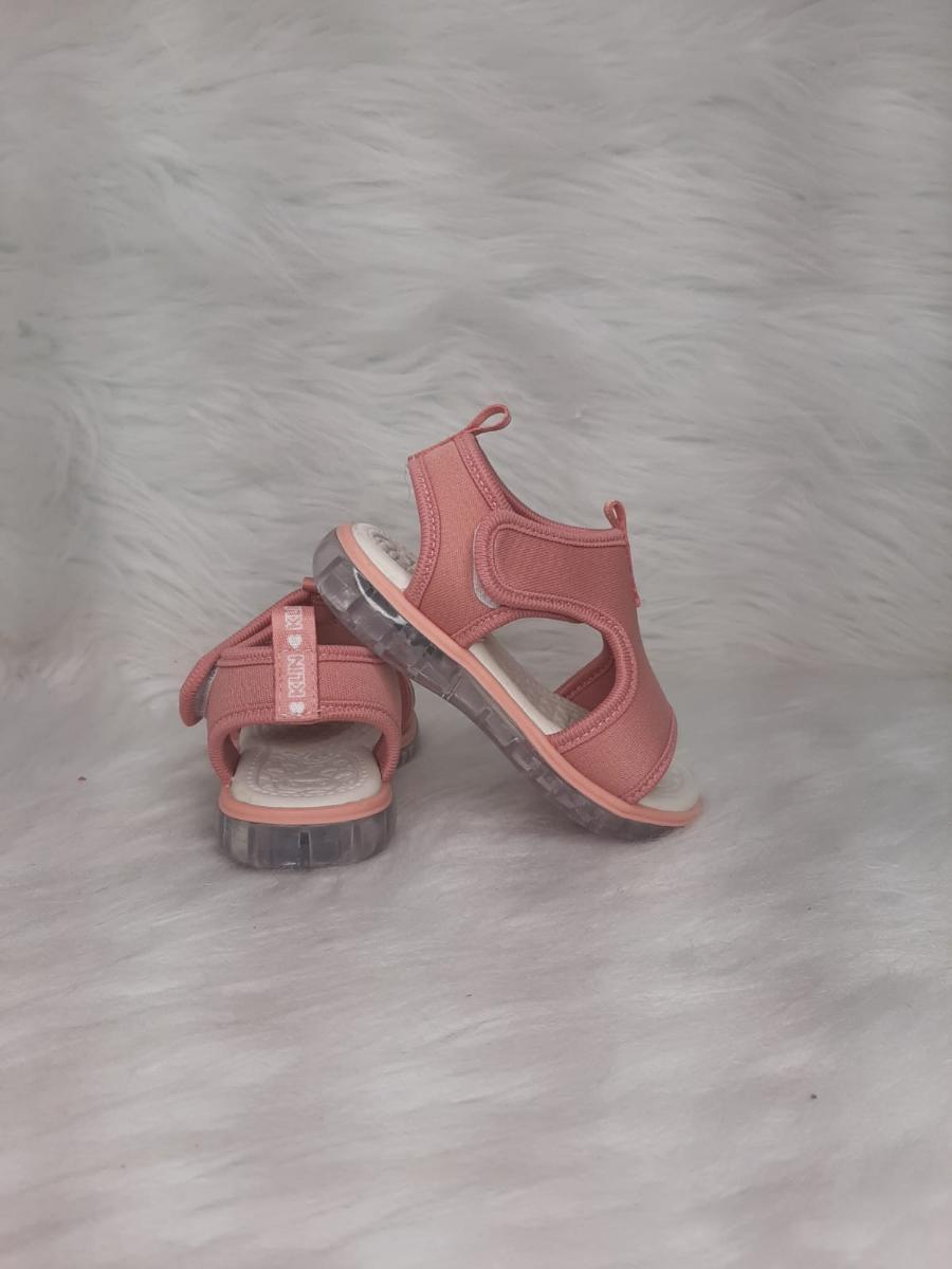 Sandalia Infantil Menina Klin Led Ref:229001000