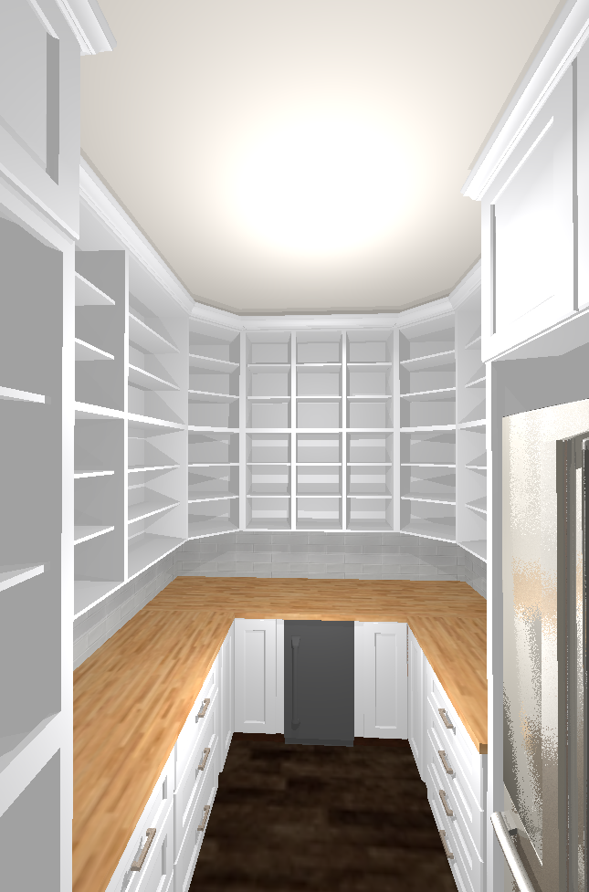 Vevano Pantry Project Rendering