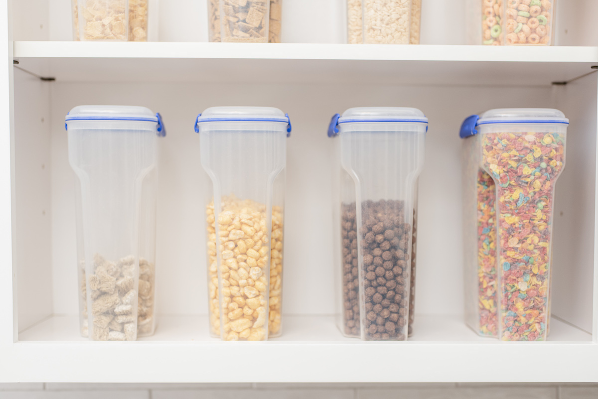 Vevano Pantry Project Shelving