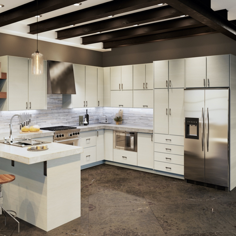 White Pine Cabinets