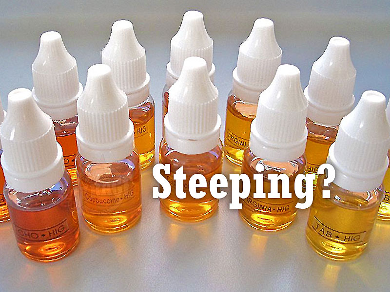 What is steeping? How do I steep my eliquids?