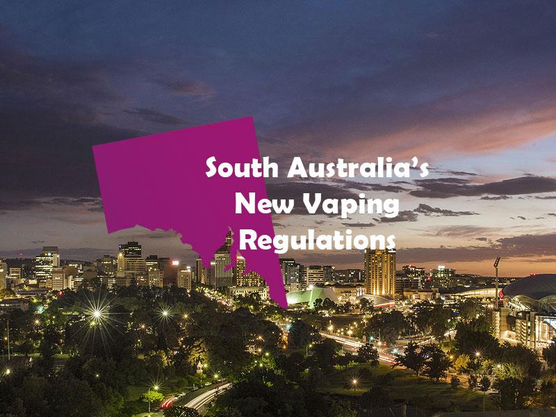 New South Australian vaping regulations go into effect