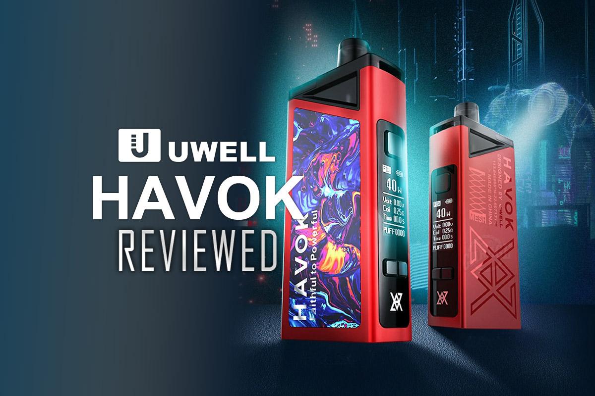 Uwell Havok Pod Reviewed
