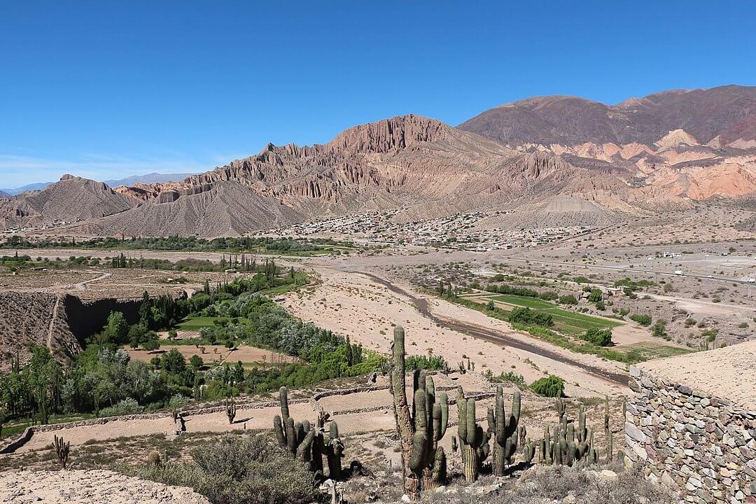Alojamientos en Quebrada de Alvarado