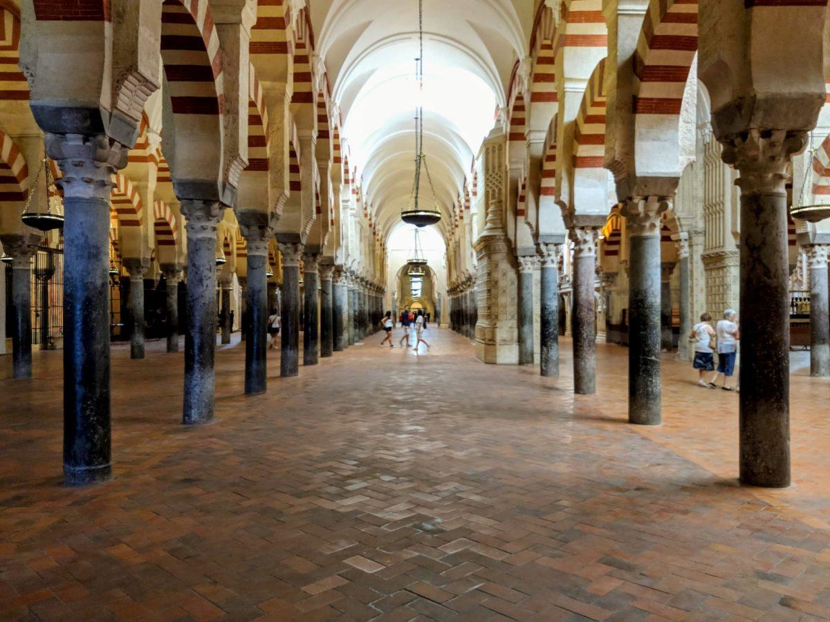 Archi della moschea di Cordoba