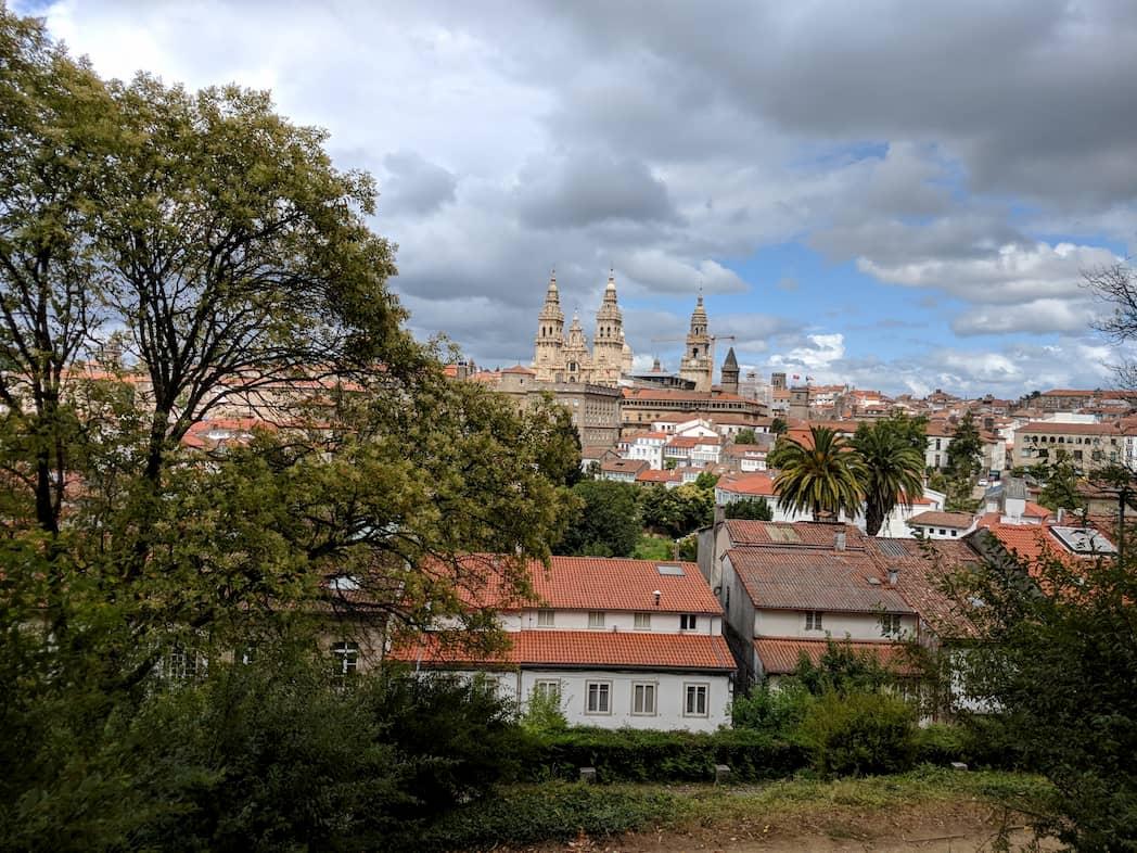 Santiago di Compostela dal Belvedere