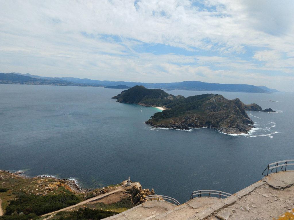 Isola Sur vista dal Faro di Cies
