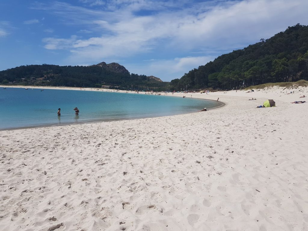 Playa de Rodas delle Isole Cies