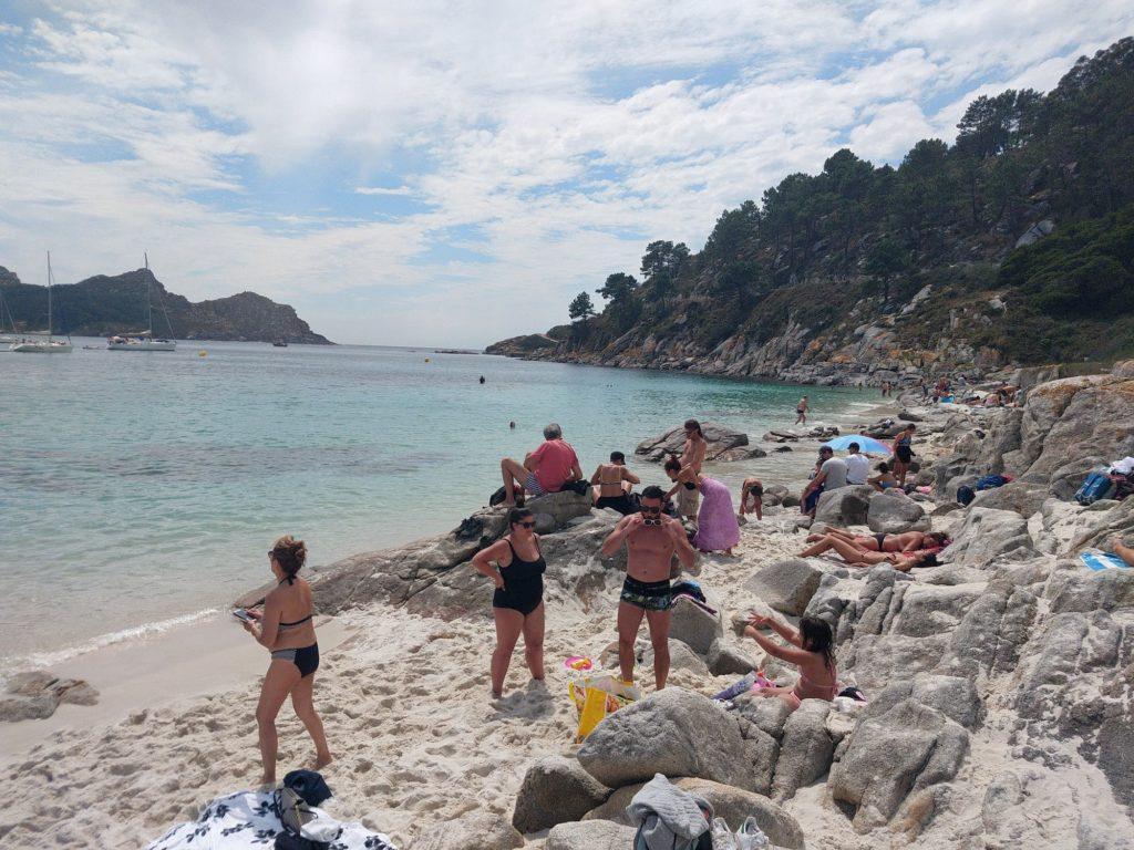 Playa de Nuestra Señora delle Isole Cies