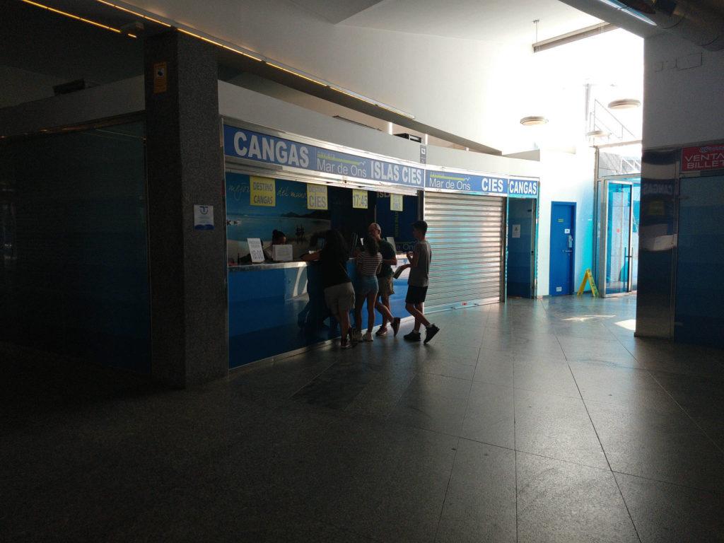 Biglietteria Mar de Ons a Vigo