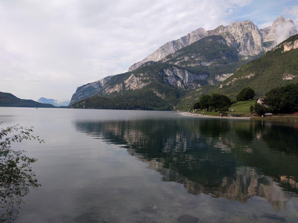 Giro del lago di Molveno