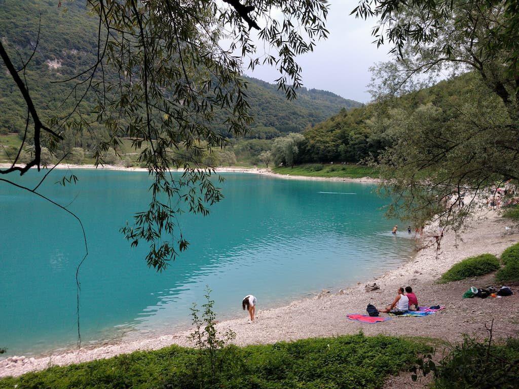 Panorama sul lago di Tenno