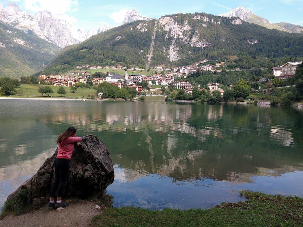 Chiara al lago di Molveno