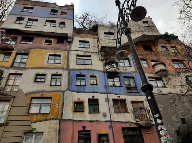 Hundertwasserhaus a Vienna