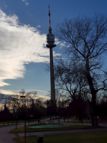 Donauturm a Vienna
