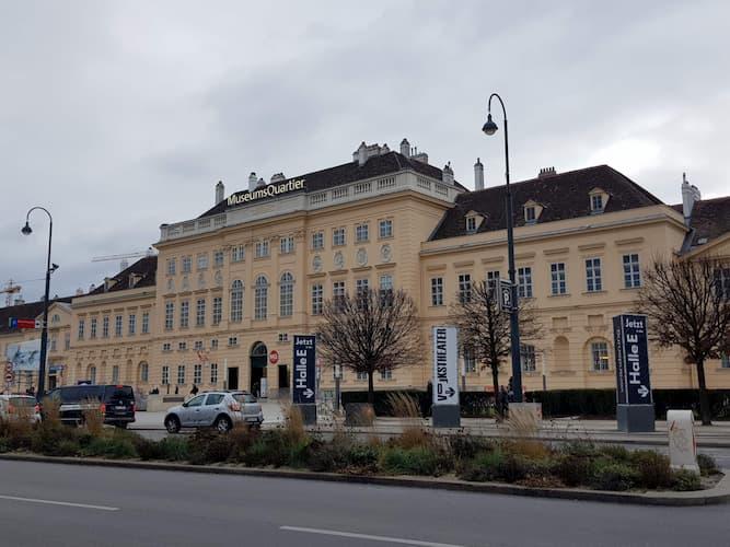 MuseumsQuartier a Vienna