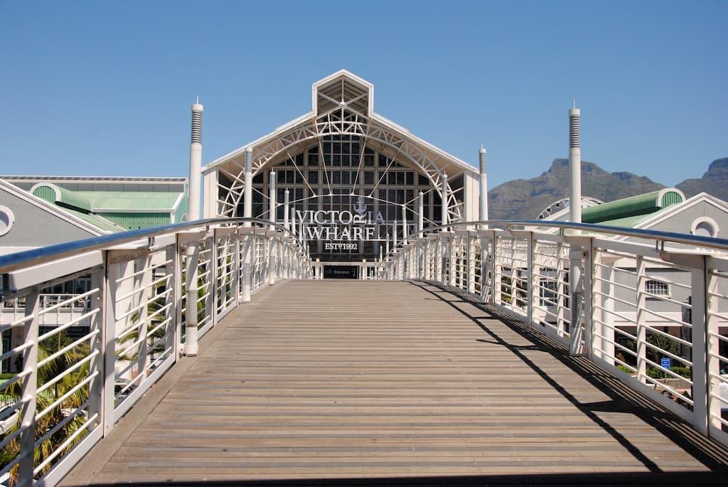Centro commerciale Victoria Wharf a Città del Capo