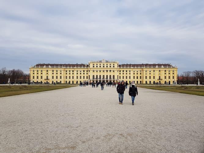 Schonbrunn a Vienna
