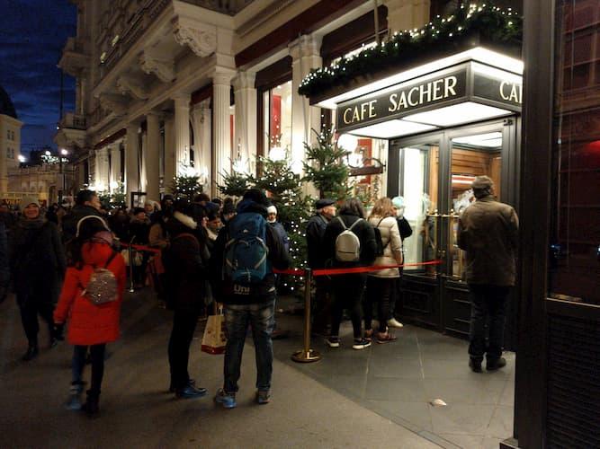 Café Sacher a Vienna