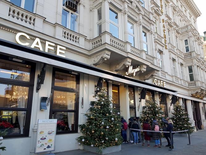Café Mozart a Vienna