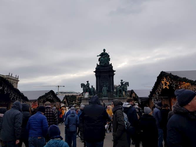 Maria Theresien Platz a Vienna