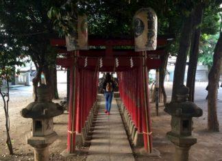 Tempio Hanazono a Shinjuku