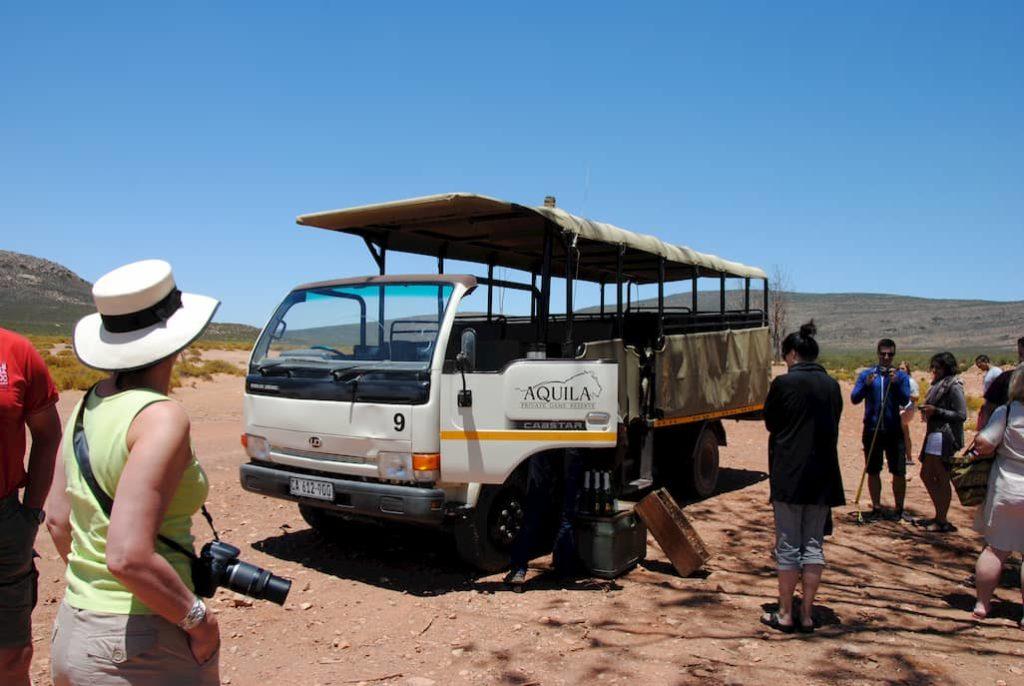 Camionetta dell'Aquila Private Game Reserve