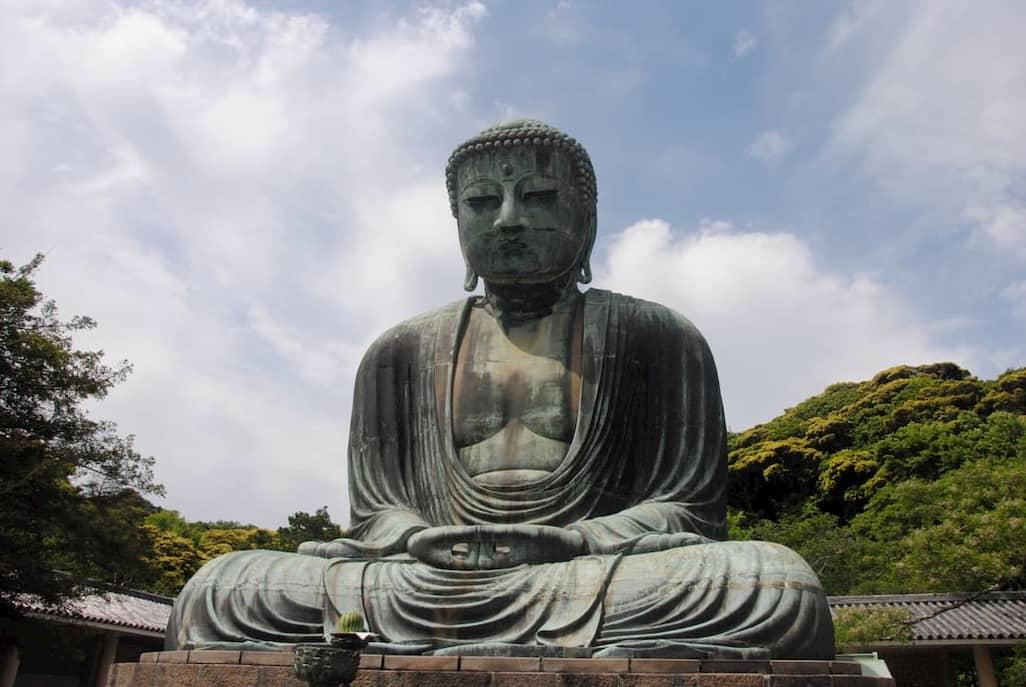 Statua del Grande Buddha a Kamakura