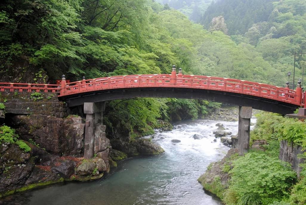 Ponte Shinkyo di Nikko