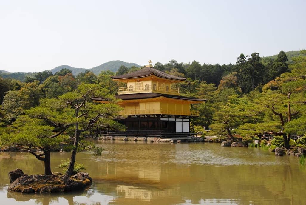 Tempio d'oro a Kyoto