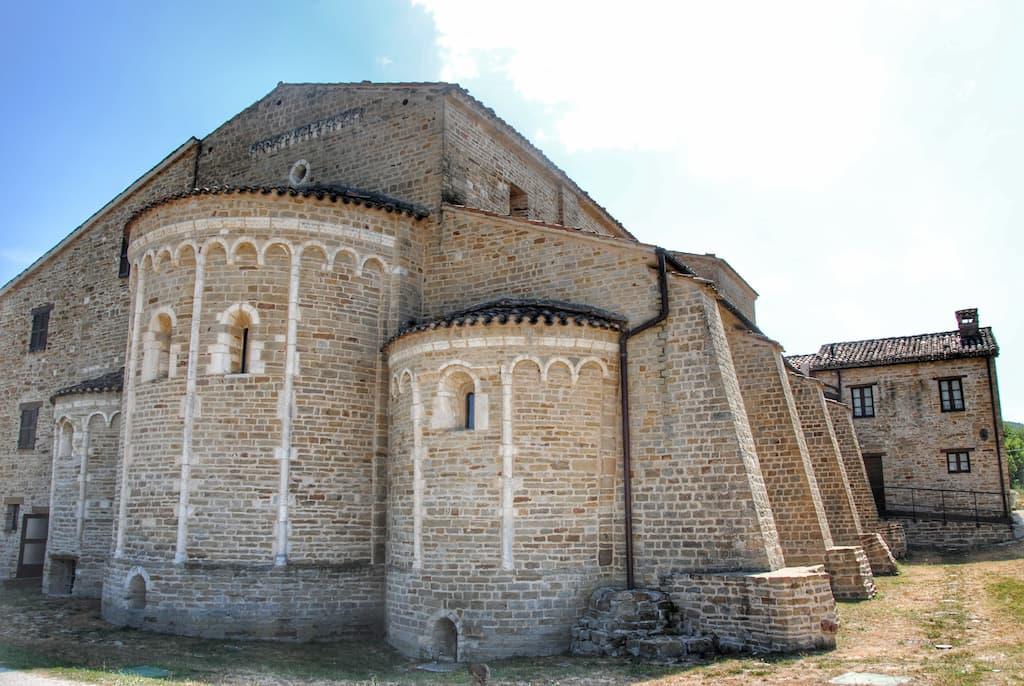 L'abside dell'Abbazia di Sant'Urbano