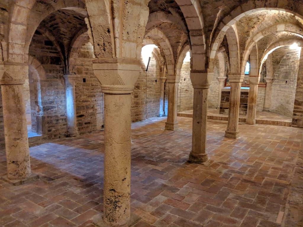 Cripta dell'Abbazia di Sant'Urbano